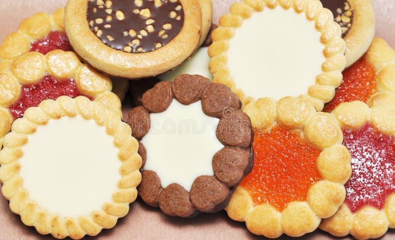 Μπισκότα μαρμελάδας στοκ φωτογραφίες με δικαίωμα ελεύθερης χρήσης