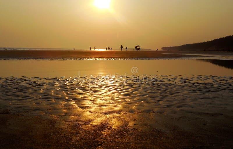 Να εξισώσει τη χρυσή παραλία στοκ εικόνα με δικαίωμα ελεύθερης χρήσης