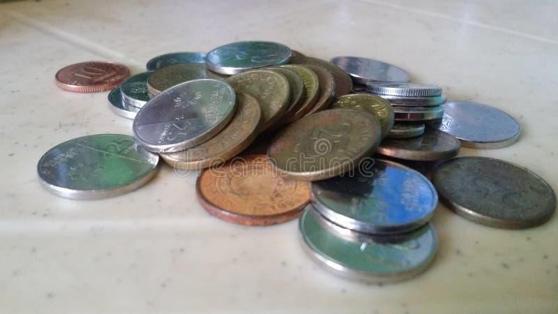 Νομίσματα των Φιλιππινών στοκ φωτογραφίες με δικαίωμα ελεύθερης χρήσης