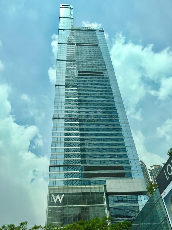 Ξενοδοχείο W στο Χογκ Κογκ στοκ εικόνες