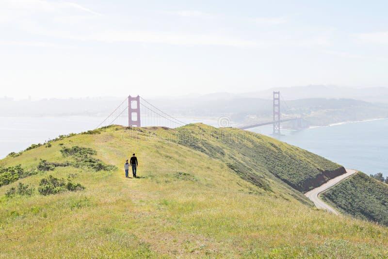 Οικογένεια στο Σαν Φρανσίσκο στοκ φωτογραφία