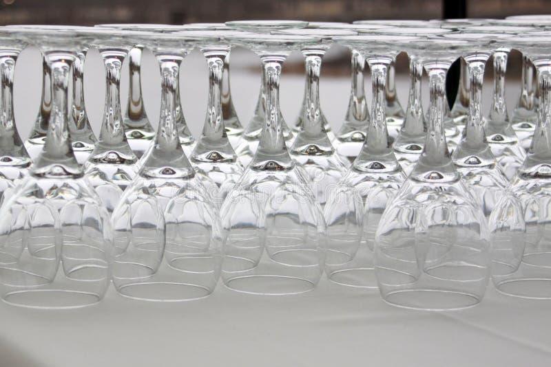 Ομαδοποίηση γυαλιών κρασιού στοκ φωτογραφίες με δικαίωμα ελεύθερης χρήσης