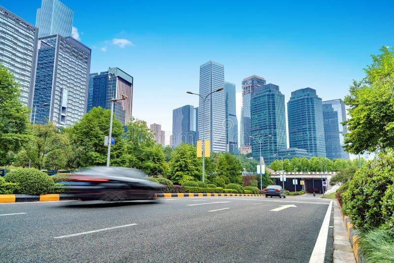 Ουρανοξύστες της Κίνας Chongqing στοκ εικόνες