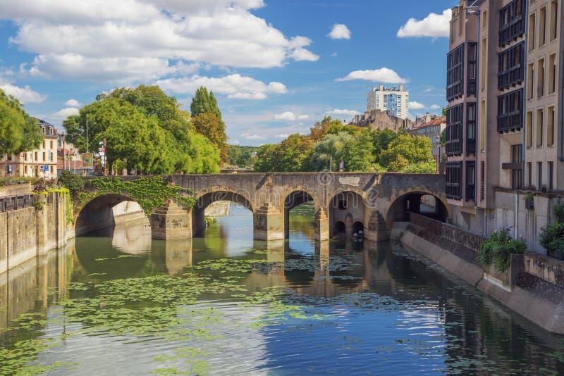 Ο Μοζέλλας και Pont des Roches στοκ φωτογραφία