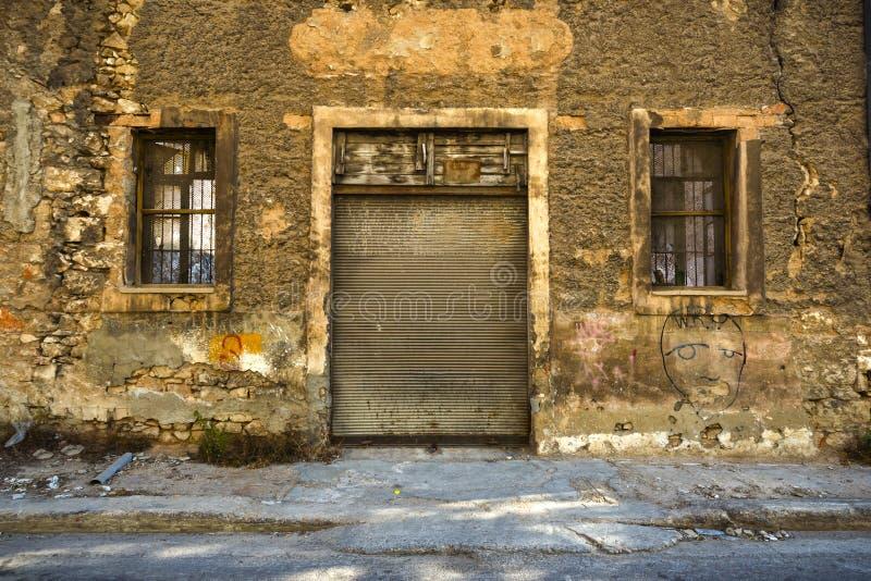 Οld, покинутый магазин стоковое изображение