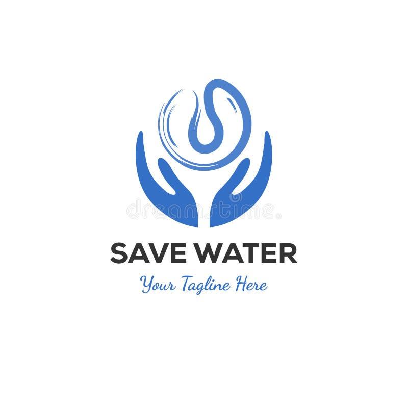 Διανυσματική έννοια λογότυπων εκτός από το νερό απεικόνιση αποθεμάτων