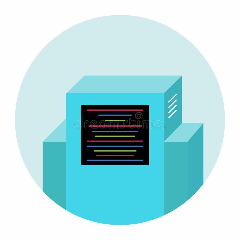 Διανυσματική απεικόνιση εικονιδίων σημαδιών χαρακτήρα συνομιλίας BOT Εικονική βοήθεια στους ιστοχώρους ή τις συνομιλίες διανυσματική απεικόνιση
