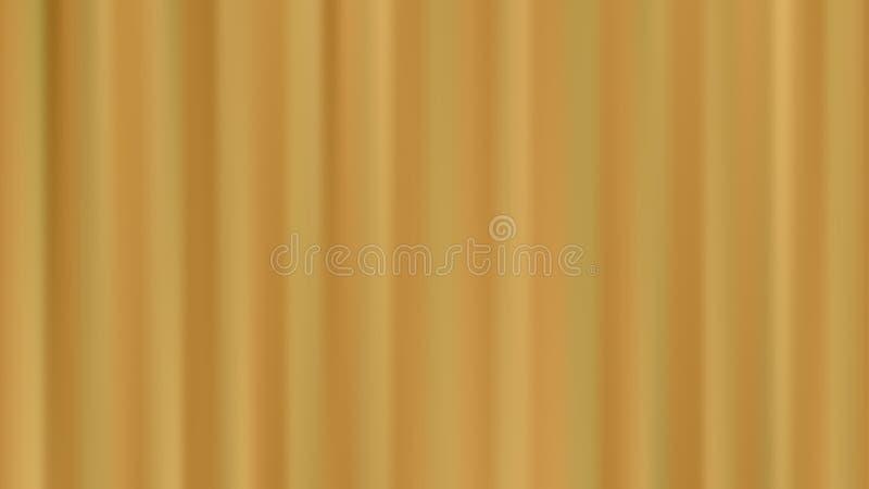 Διανυσματικό υπόβαθρο θαμπάδων με τα χρυσά κάθετα striipes διανυσματική απεικόνιση