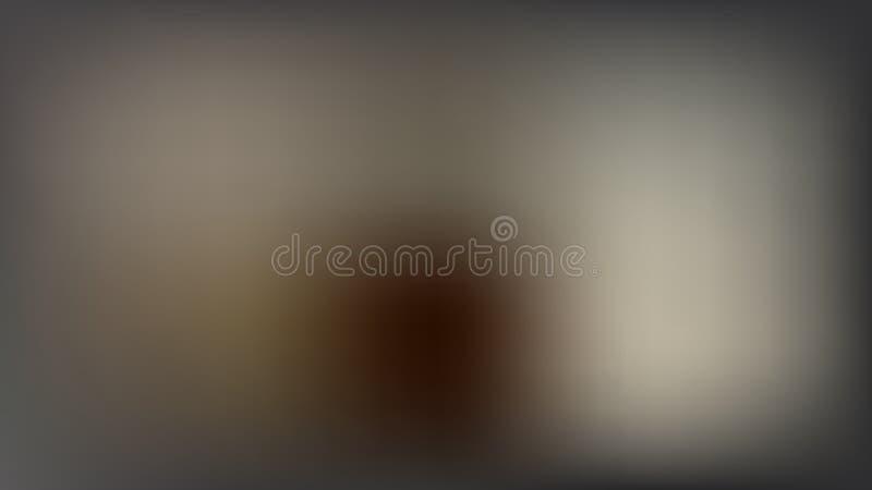 Διανυσματικό υπόβαθρο θαμπάδων με τη σκοτεινή σκιαγραφία ατόμων διανυσματική απεικόνιση