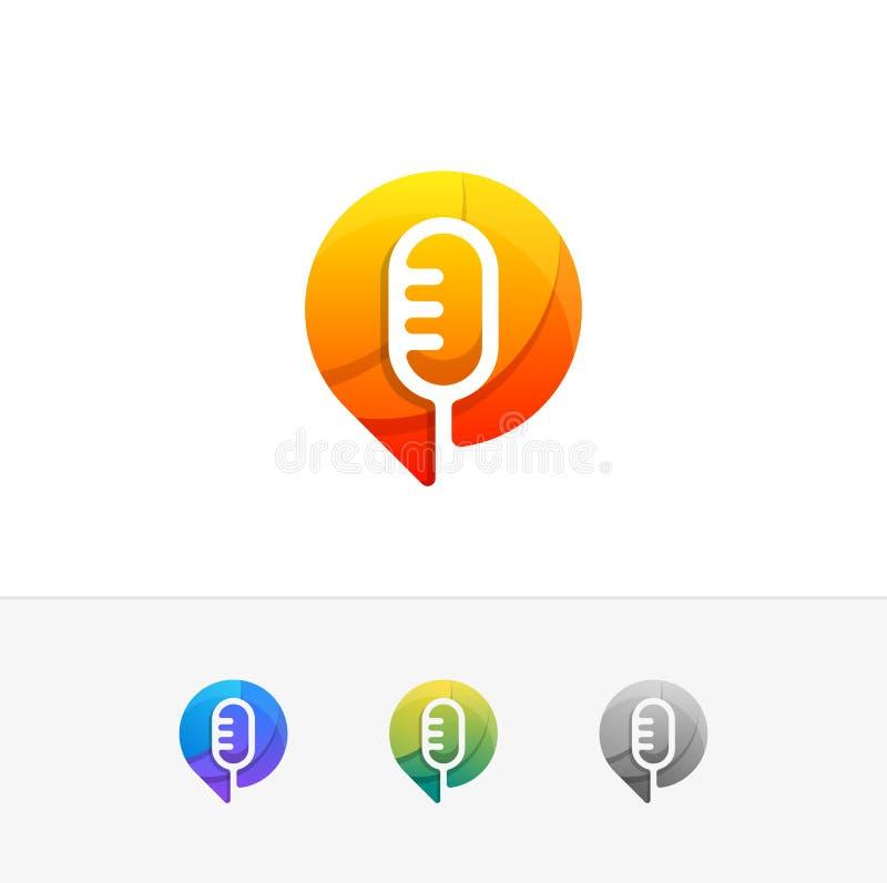Διανυσματικό πρότυπο απεικόνισης έννοιας σχεδίου φωνής ελεύθερη απεικόνιση δικαιώματος
