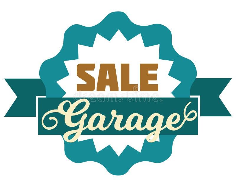 Διαπραγματεύσεις διαφήμισης σημαδιών πώλησης γκαράζ Πρότυπο Logotypes με τη συνολική διανυσματική απεικόνιση πώλησης Ειδική προσφ απεικόνιση αποθεμάτων