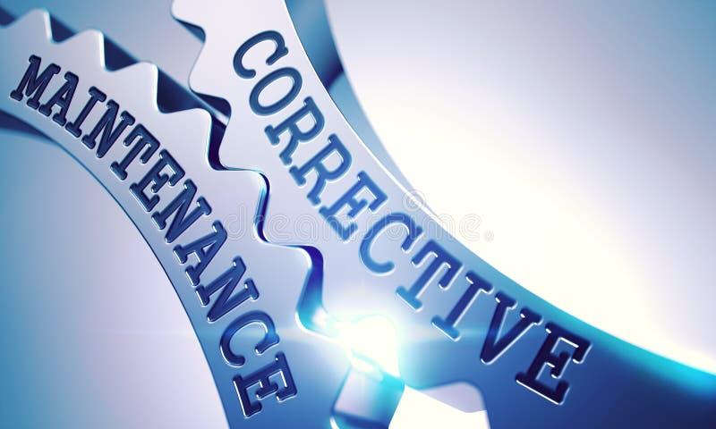 Διορθωτική συντήρηση - μηχανισμός των μεταλλικών εργαλείων τρισδιάστατος απεικόνιση αποθεμάτων