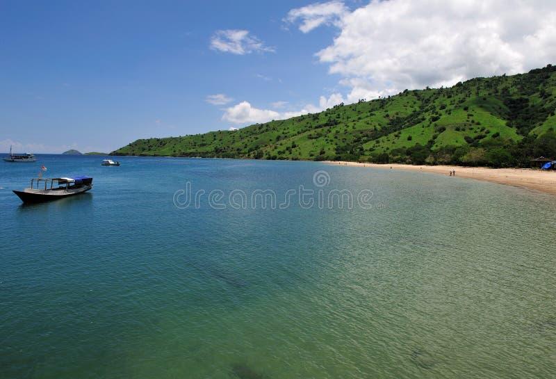 Île 7 de Komodo photographie stock libre de droits