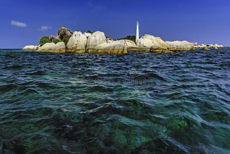 Île Belitung-Indonésie de Lengkuas image stock