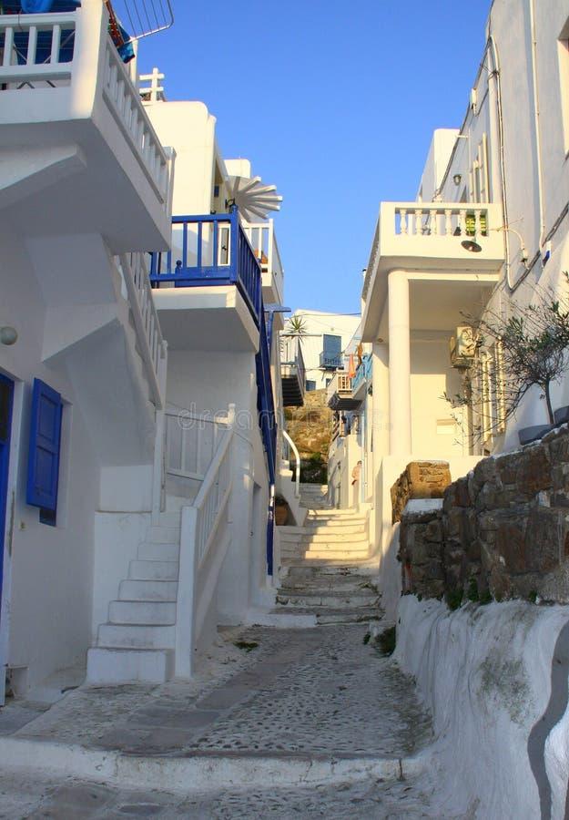 Île blanche d'og de rue photo libre de droits