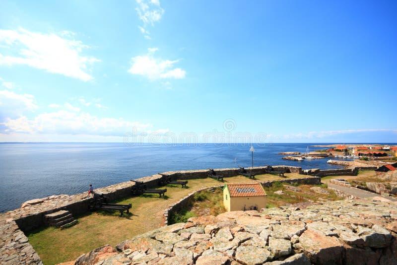 Île Bornholm Danemark de Christiansoe de fort photos stock