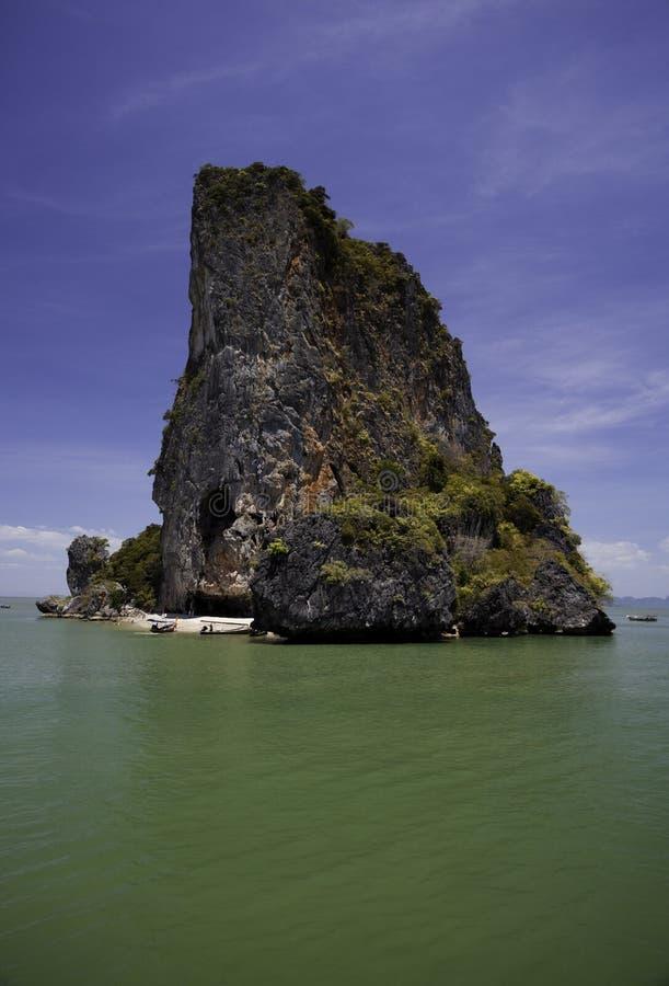 Île célèbre de la Thaïlande photographie stock