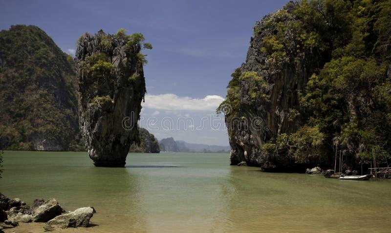 Île célèbre de la Thaïlande images libres de droits