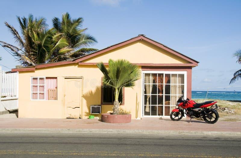 Île Colombie de San Andres d'architecture photo stock