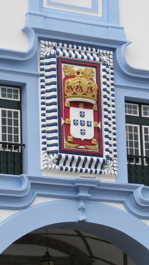 Île, couronne portugaise photo stock