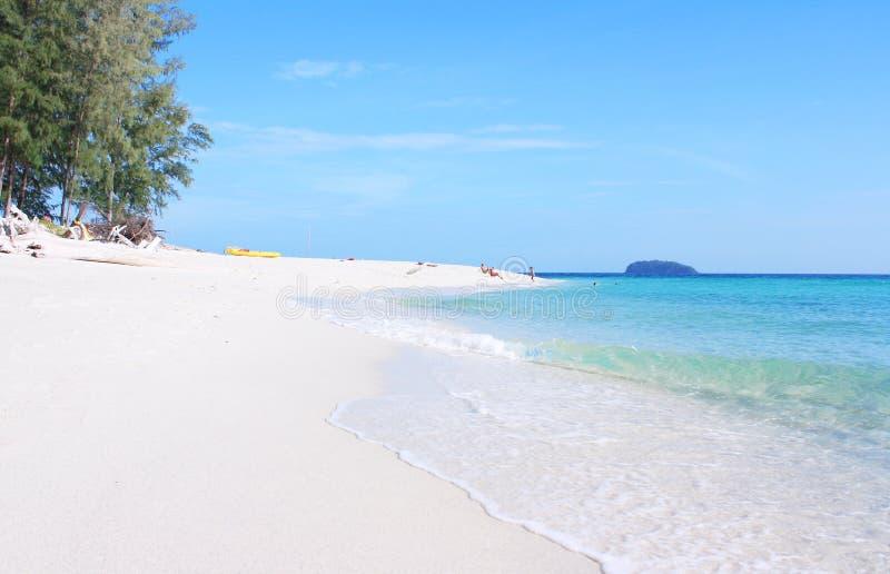 Île d'Adang, Koh Adang, province de Satun Thaïlande images libres de droits