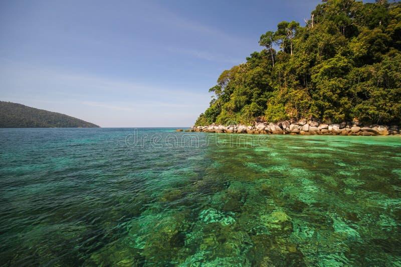Île d'Adang, province Thaïlande de Koh Adang Satun image stock