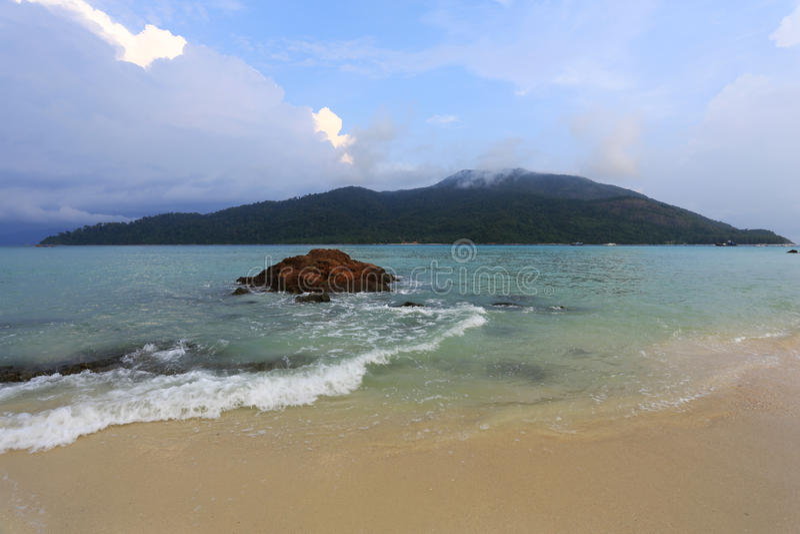 Île d'Adang Rawi, parc national de Tarutao, Satun, Thaïlande images stock