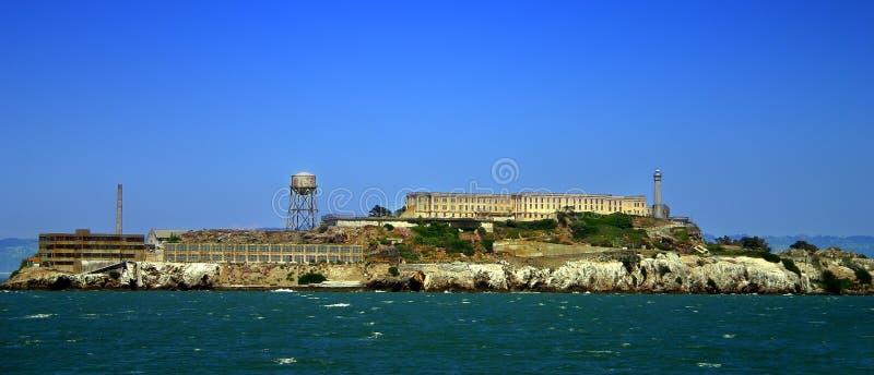 Île d'Alcatraz, San Francisco images libres de droits