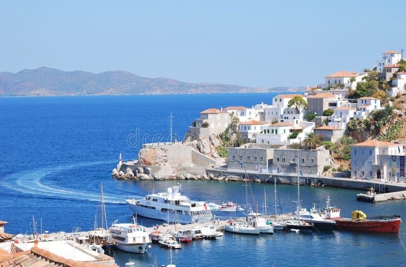 Île d'hydre, Grèce photographie stock libre de droits