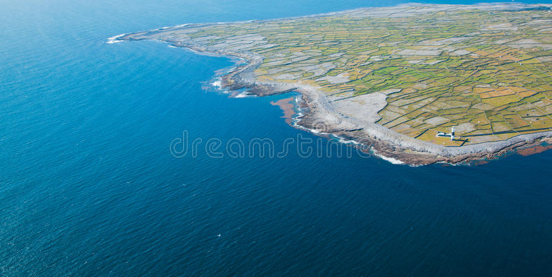 Île d'Inisheer image stock