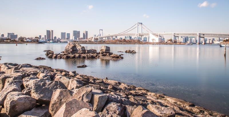 Île d'Odaiba à Tokyo photos stock