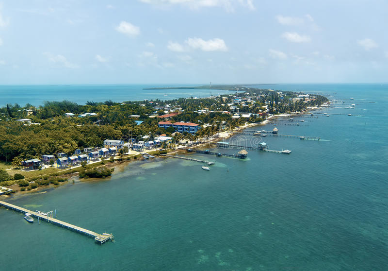 Île dans les Caraïbe photo libre de droits