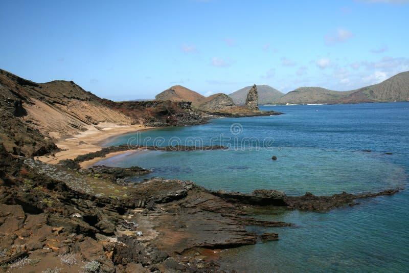Île de Bartolome, Galapagos images libres de droits