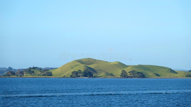 Île de bruns de la ville d'Auckland, Nouvelle-Zélande photographie stock