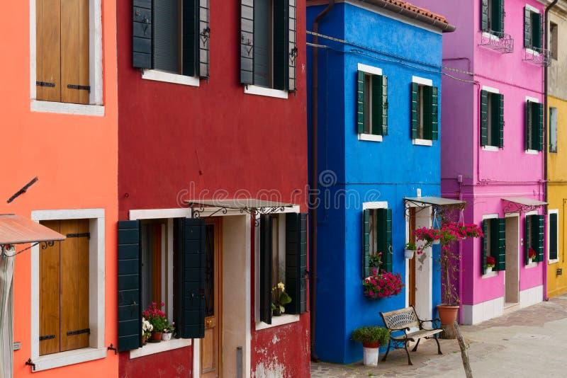 Île de Butano, Venise, Italie photographie stock