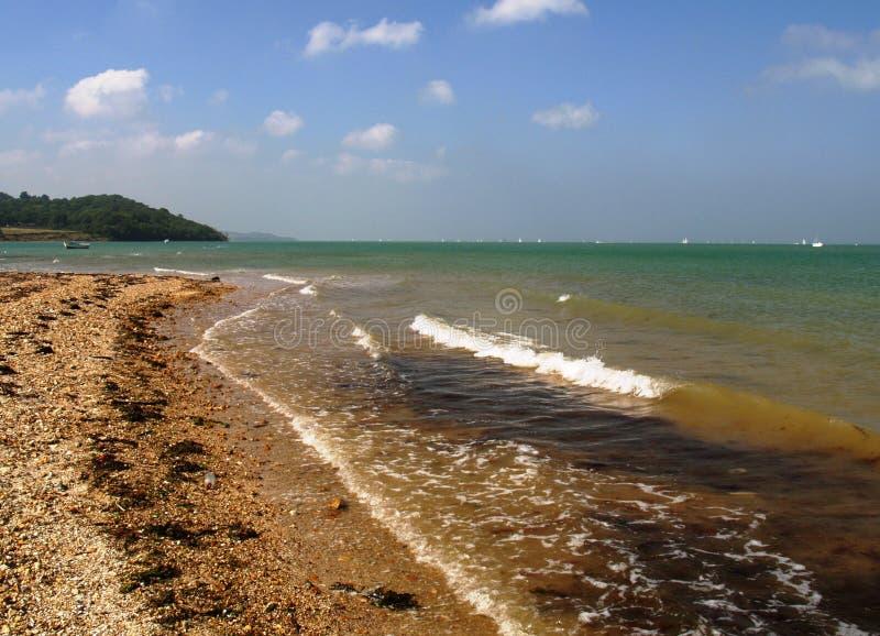 Île de côte de Wight photo libre de droits