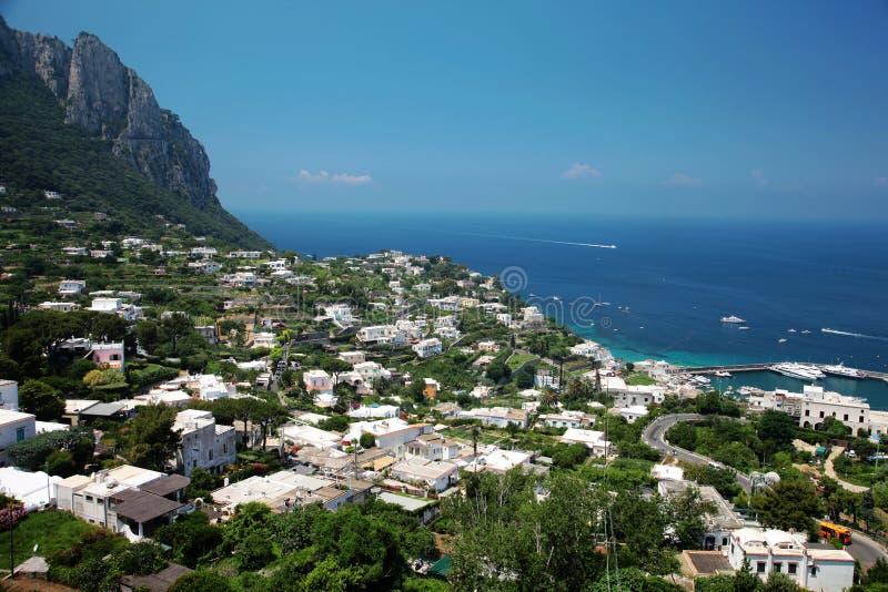 Île de Capri image libre de droits