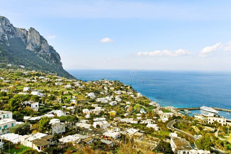 Île de Capri. image libre de droits