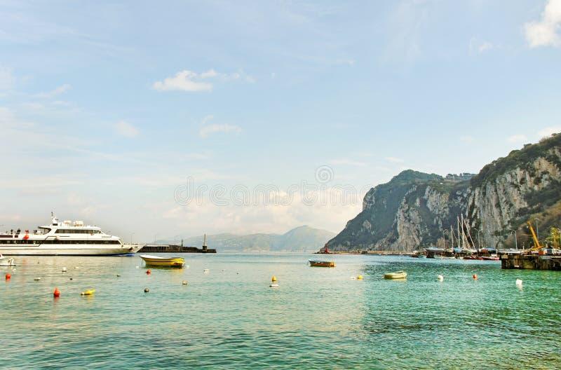 Île de Capri. photo libre de droits
