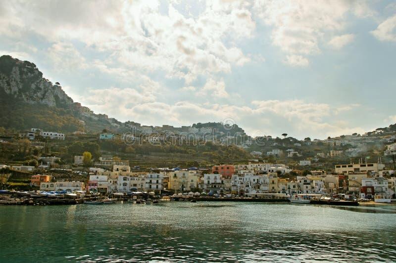 Île de Capri. photographie stock