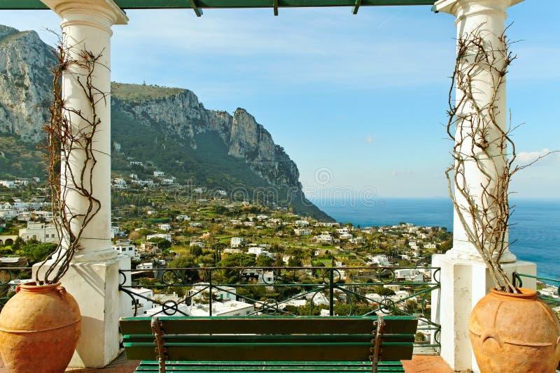 Île de Capri. photo stock