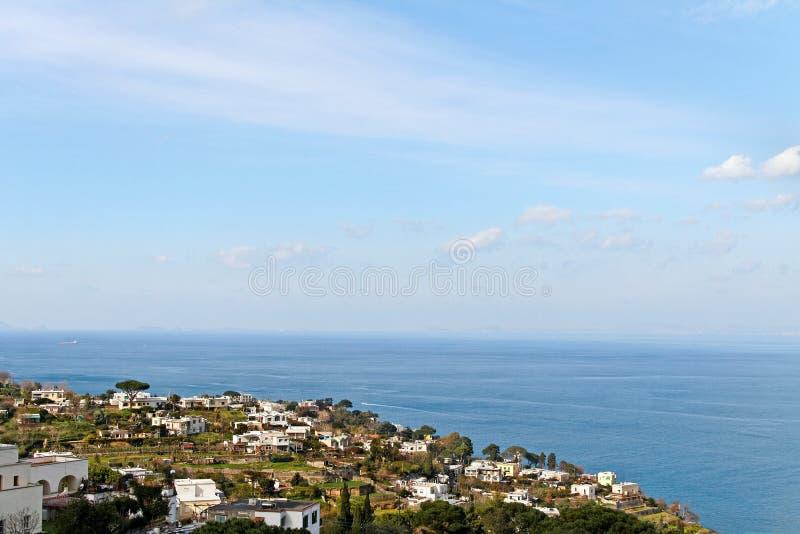 Île de Capri. images stock