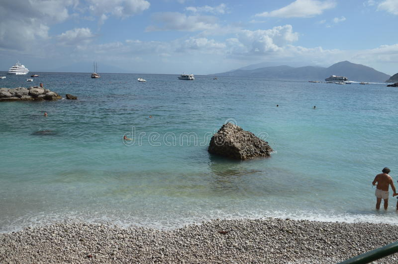 Île de Capri photographie stock libre de droits