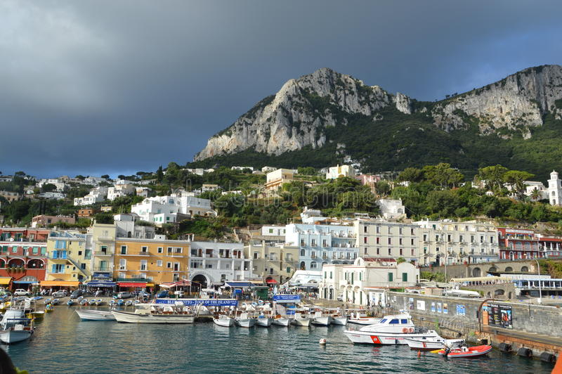 Île de Capri images libres de droits
