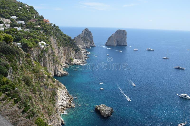 Île de Capri photo libre de droits
