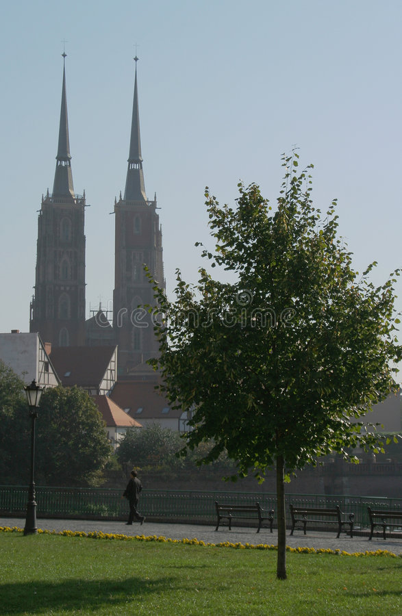 Île de cathédrale images libres de droits