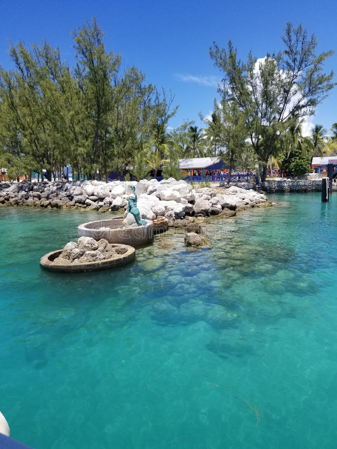Île de Cay Royal Caribbean Private de Cocos photo libre de droits