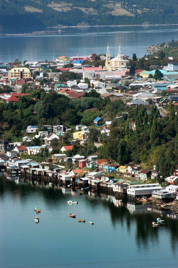 Île de Chiloe, Chili Amérique du Sud photographie stock
