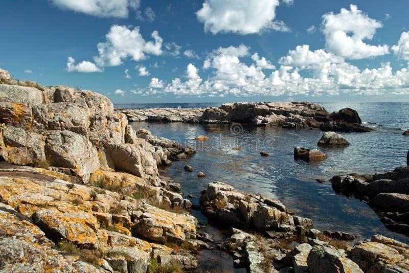 Île de Christianso, Danemark photo stock