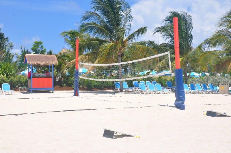 Île de CocoCay de jour parfait photographie stock libre de droits